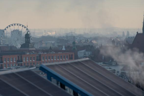 Mrozy w Trójmieście spotęgowały smog