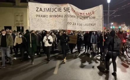 Strajk Kobiet po publikacji uzasadnienia wyroku ws. aborcji