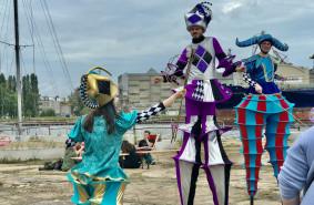 Festiwal cyrkowy w Stoczni Cesarskiej