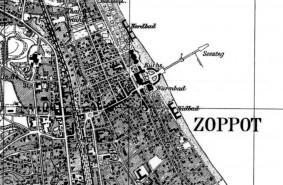 Zobacz Trójmiasto na przedwojennej mapie