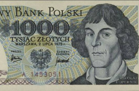 Kopernik wraca na banknot