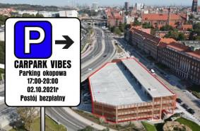 Zlot fanów motoryzacji na nowym parkingu