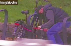 Próbował ukraść rower w centrum miasta