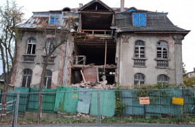 Fasada zabytkowej willi ma być odbudowana
