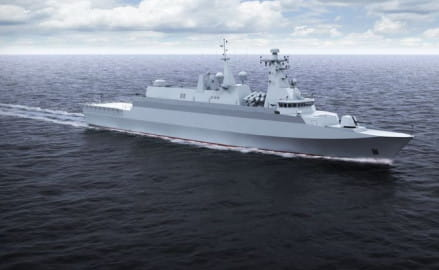 Jak będzie wyglądał okręt Miecznik?