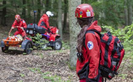 Ratownicy-ochotnicy szukają zaginionych