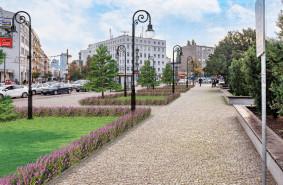 Zielona wizja placu przed dworcem w Gdyni