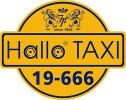 Hallo Taxi logo