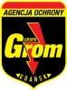Agencja Ochrony Osób i Mienia GRUPA GROM logo