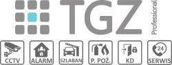 TGZ Professional - Nowoczesne instalacje teletechniczne logo