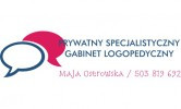 Prywatny Specjalistyczny Gabinet Logopedyczny