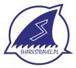 Logo Akademia Koszykówki i Siatkówki Gdynia Sharks i Biuro Podróży SharksTravel.pl