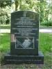 Pomnik upamiętniający teren byłego Cmentarza Katolickiego
