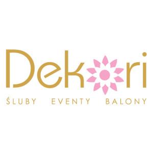 Logo DEKORI - Śluby / Eventy / Balony