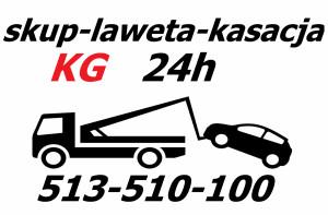 Logo KG kasacja pojazdów