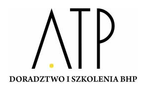 ATP Doradztwo i Szkolenia BHP logo