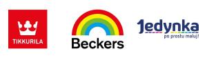 Sklep z farbami, mieszalnia Beckers Tikkurila Jedynka