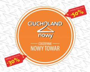 Ciucholand Nowy logo