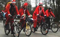 Mikołaje na Rowerach rozgrzali Trójmiasto