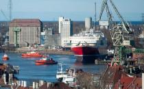 W Stoczni Gdańsk zwodowano prom dla Norwegów