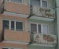 Balkony na Witominie w rozsypce