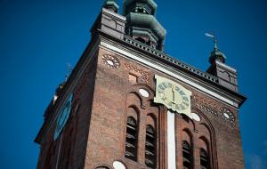 Wkrótce sprawdzisz czas na wieży kościoła  św. Katarzyny