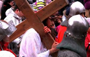 W Wielki Piątek Jezus umierał na ulicach Gdańska