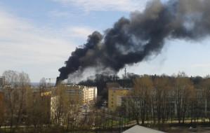 Palił się dach Teatru Muzycznego w Gdyni