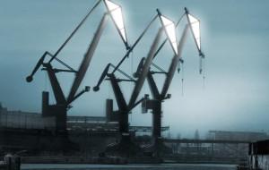 Architekci proponują iluminację stoczniowych żurawi