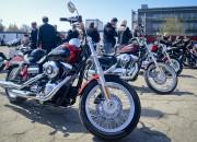 Rocznicowa przejażdżka Harleyem