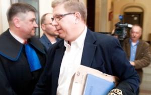 Sędzia Ryszard Milewski wydaje już wyroki