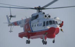 Śmigłowiec MW uratował wędkarza na Bałtyku