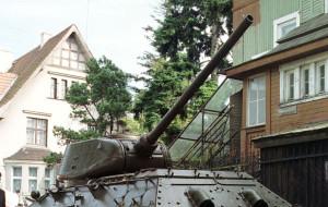 Urzędnikom nie podoba się oliwski czołg