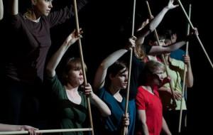 Lucie - studenci z Maybe Theatre Company w akcji