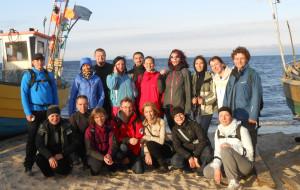 Marsz plażą z Gdyni Oksywia do Rewy