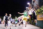 Nocny streetball z udziałem zawodowców