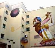 Nowe murale na budynkach w Gdańsku i Gdyni