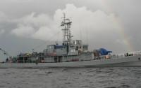 Ugaszony pożar na ORP Mewa w stoczni