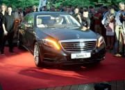Mercedes klasy S. Luksusowy nokaut