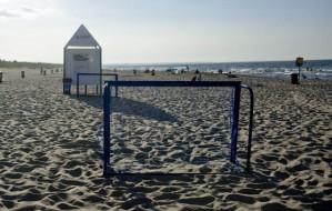 Sprawdzilismy plażę główną na Wyspie Sobieszewskiej