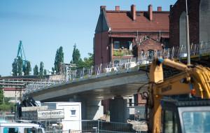 Raport z budowy ul. Nowej Wałowej w Gdańsku