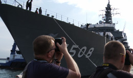 Japońskie okręty w Gdyni. Jeden z nich możesz zwiedzić