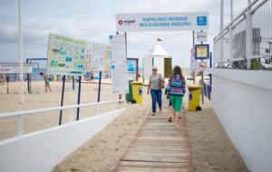 Na którą plażę z dziećmi? Oceniamy Brzeźno