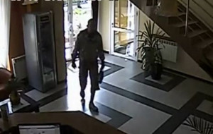 Kamery zarejestrowały złodzieja, policja umorzyła sprawę