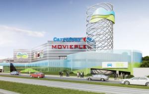 """Centra handlowe: rozbudowa """"Moreny"""", kino w """"Rivierze"""""""