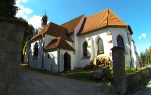 Zobacz kościół w Świętym Wojciechu
