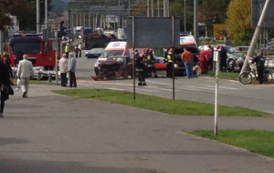 Kolejny wypadek na obwodnicy w Gdyni