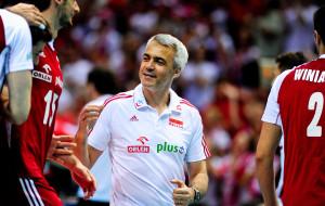 Trener kadry siatkarzy uwielbia Ergo Arenę