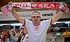 FOTO: Fani w biało-czerwonych barwach