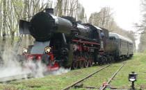 Zabytkowe lokomotywy odwiedziły w czwartek...